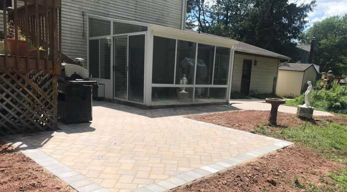 Cambridge Paver Patio in Hillsborough, NJ