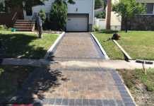 Interlock Paver Driveway in Union County, NJ
