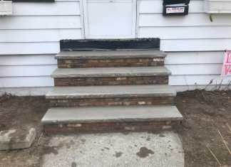 Brick Step Renovation in Kearny, New Jersey