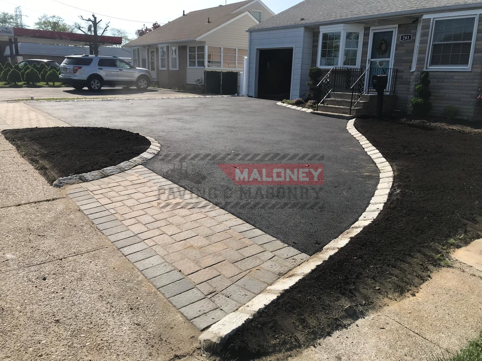 Asphalt Driveway At Washington Road Sayreville Nj